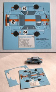 Toy Car Business Card